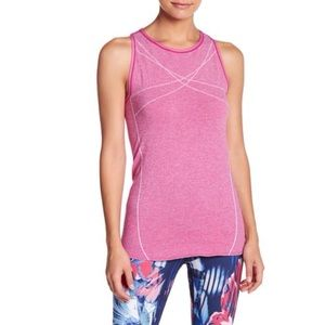 Z By Zella Stretch Seamless Tank Top Pink Small